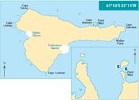 Elephant Island map