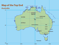 Map of Top End
