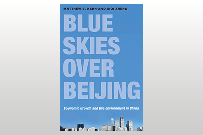 Blue Skies over Beijing: Economic Growth and the Environment in China<br>Matthew E. Kahn & Siqi Zheng