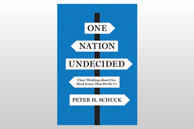 One Nation Undecided: Clear Thinking about Five Hard Issues That Divide Us<br>Peter H. Schuck