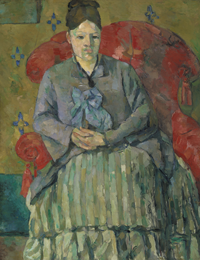 Madame Cézanne in a Red Armchair © Museum of Fine Arts, Boston. Bequest of Robert Treat Paine, 2nd