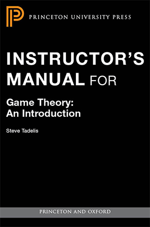 Game Theory An Introduction Steven Tadelis