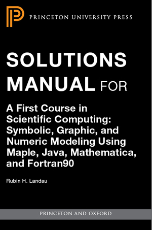 scientific computing an introductory survey solution manual pdf